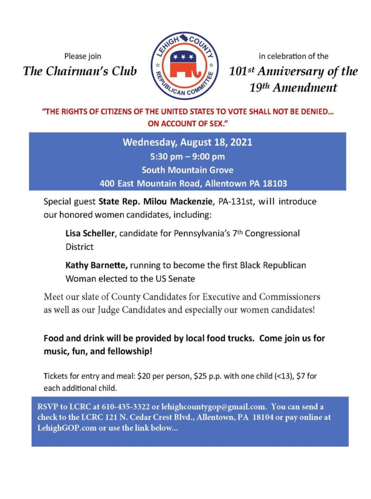 19th Amendment Celebration